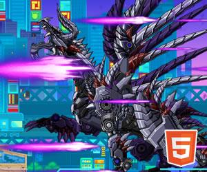 Play Robot Skeleton Dragon At Acoolh5 Com