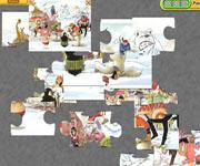 Comic Stars Jigsaw