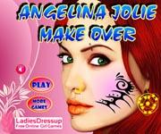 Angelina Jolie Make Over
