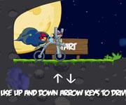 Angry Birds Space Bike