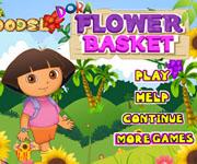 Dora Flower Basket