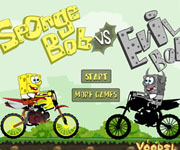 Spongebob VS Evilbob