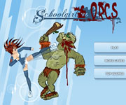 Schoolgirl Vs Orcs