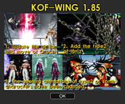 King Of Fighters Wing 1.85