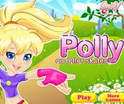 Polly on Roller Skates
