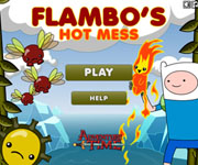 Adventure Time Flambo Hot Mess