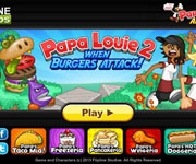 Papa Louie 2 When Burgers Attack!