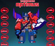Optimus Prime Dressup Noads