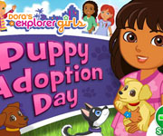 Dora Puppy Adoption Day