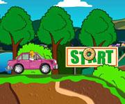 Homer Donut Run