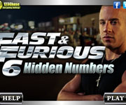 Fast And Furious Hidden Numbers
