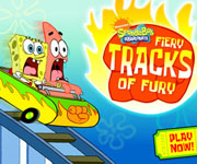 SpongeBob Fiery Tracks Of Fury