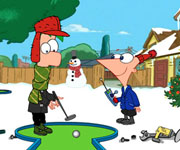 Phineas and Ferb Gadget Golf