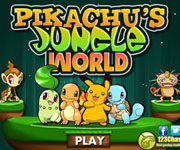 Pikachu Jungle World
