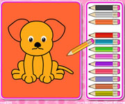 Cute Pets Coloring