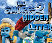 The Smurfs 2 Hidden Letters