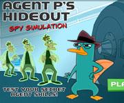Agent P Hideout Spy Simulation