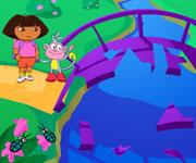 Dora Puzzle Bridge