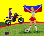 Lionel Messi Bike Ride