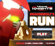 Tenkai Knights Bravenwolfs Run