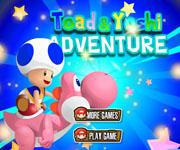 Toad Yoshi Adventure
