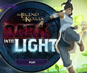 Legend of Korra Dark Into Light
