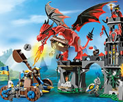Lego Dragon Mountain Game