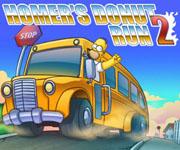 Homer Donut Run 2