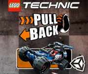 Lego Technic Pull Back