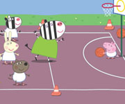 Peppa Pigs Basketball