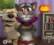 Igrica za decu Talking Tom Halloween