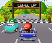 Mario on Road