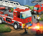 Lego City Fire Suppression