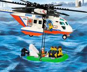 Lego Coast Guard Rescue Mission
