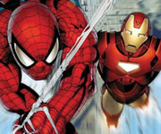 Spiderman VS Iron Man Save The Town 2