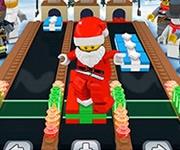 Lego Santas Toy Factory