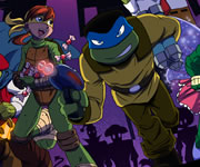 TMNT Trick or Treat Tussle