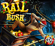 Rail Rush Worlds Snow Land