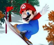 3D Mario Snowboard