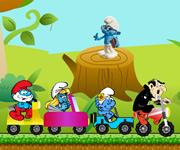 Smurfs Fun Race