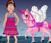 Zoe with Pony Dress Up