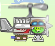 Bad Piggies Drive Helicopter