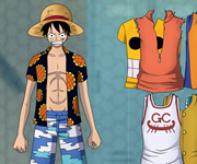 One Piece Dress up