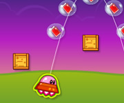 Kirby Airship Flying