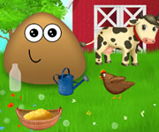 Pou at the Farm