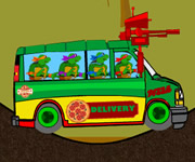 TMNT Pizza Delivery