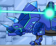 Dino Robot Tricera Blue