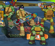 Online game Teenage Mutant Ninja Turtles Deckd Out