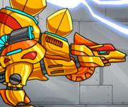 Dino Robot Stego Gold