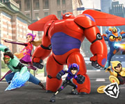 Big Hero 6 Baymax Sky Patrol